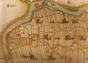 Hof Eggers - Alte Karte Vierlanden