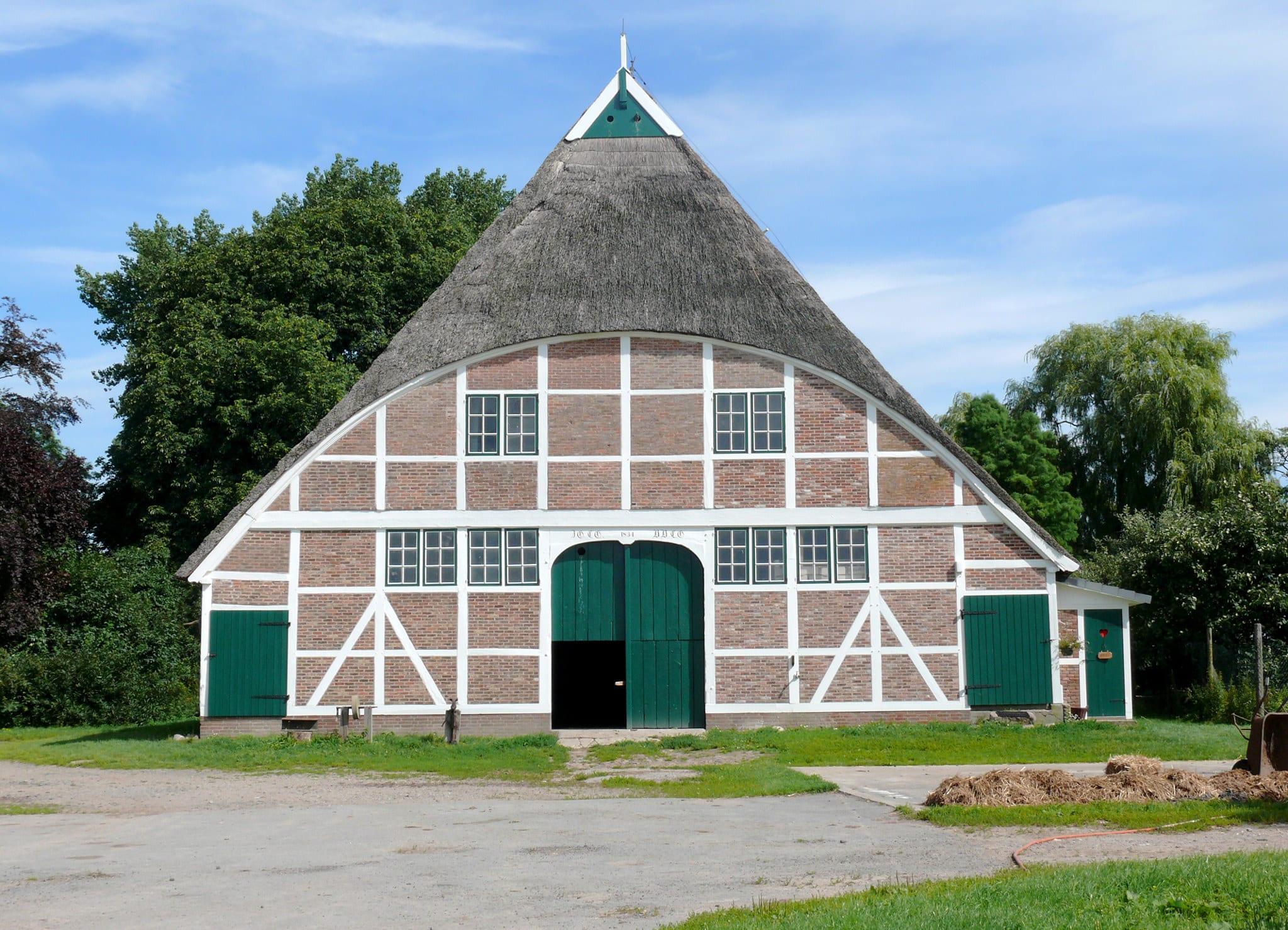 Gebäude und Hofplan - Hof Eggers Bio Bauernhof in Kirchwerder bei ...