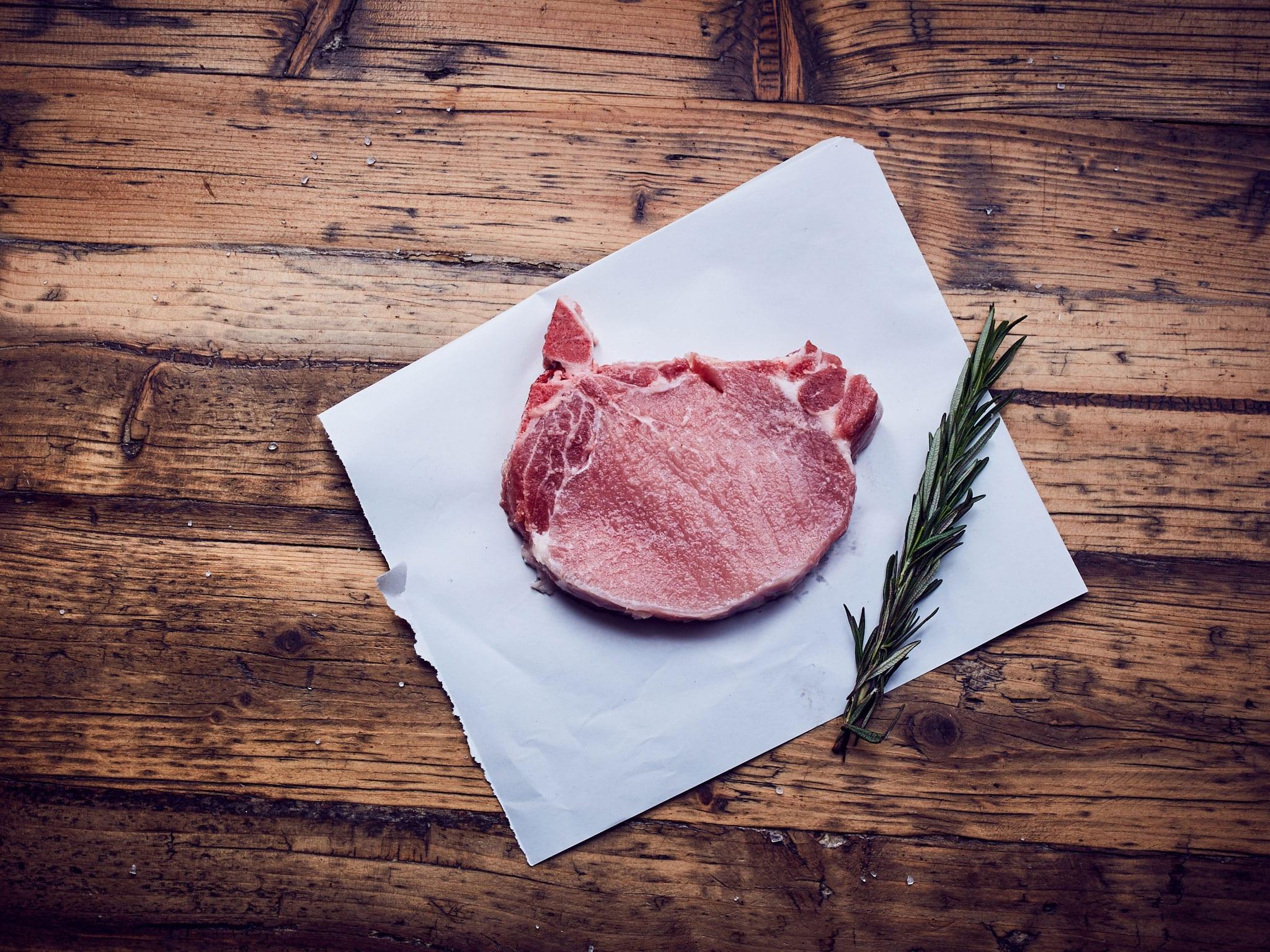 Karbonade Kotelett Schwein - Bio Fleisch Shop Hamburg - Hof Eggers